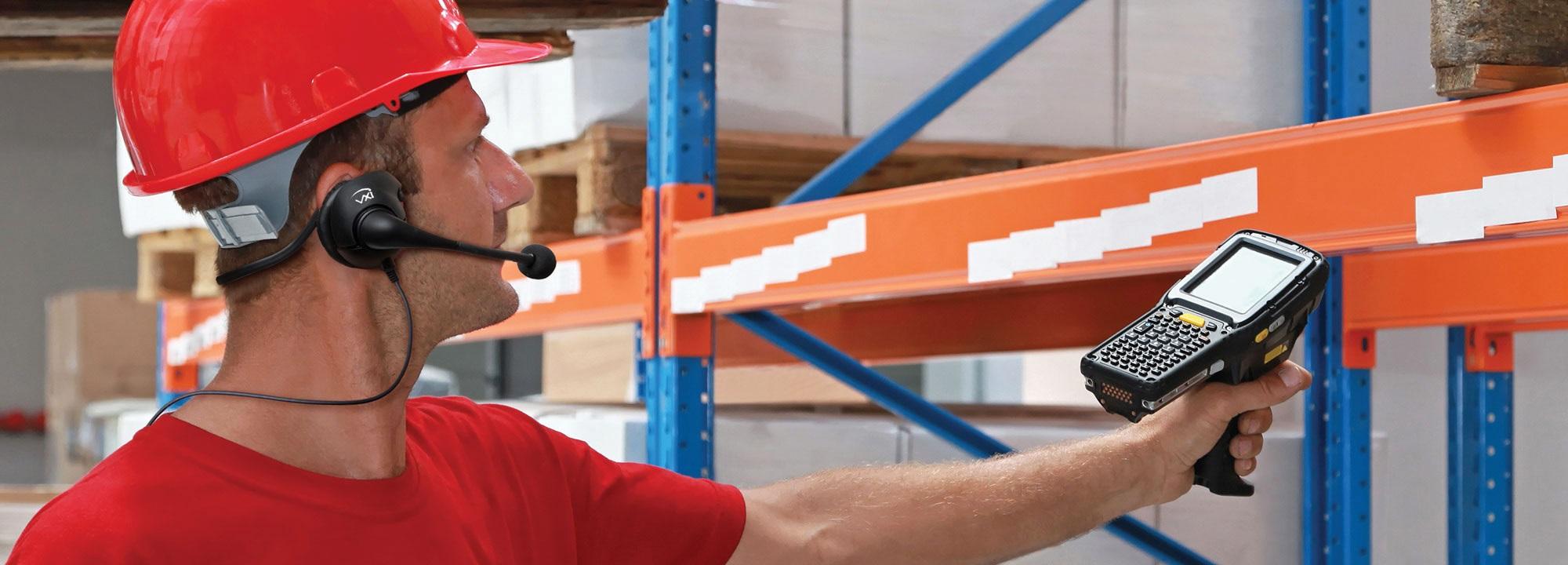 Pick by Voice Headset für Warenhaus-Systeme, Warehouse-Headset, Batstar Headset, Headset für Vocollect-Talkman, Headset für Topsystem Voxter, Headset für proLogistik pL-Voice, Headset für Motorola Warenhaussystem
