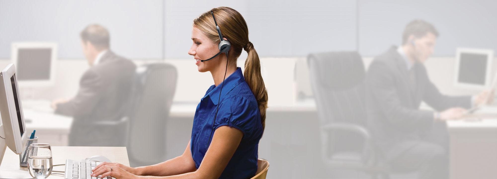 Profi-Headset, Callcenter-Headset, Tel-Headset, Headset kabelgebunden, Office Headset, Headset schnurgebunden, Business Headset