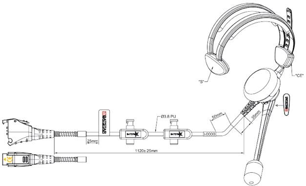 BATSTAR Comfort S / L - Voxter 9-Pin