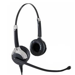Komfort Headset, binaurales Headset, Profi Headset kabelgebunden, Sprechgarnitur binaural