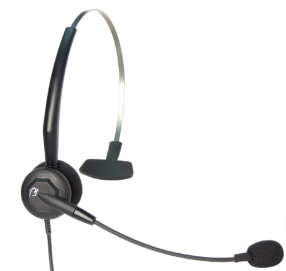 Kopfbügel Headset, kabelgebunden, Sprechgarnitur