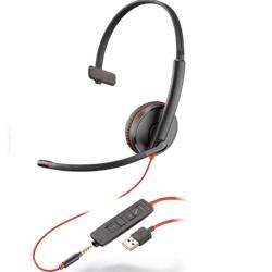 USB-A Headset, Klinkenstecker Headset, Plantronics Headset, Callcenter Headset, Office Headset
