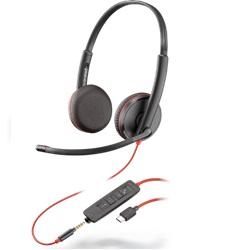 USB-C Headset, Plantronics Headset, Callcenter Headset, VoIP Headset, Office Headset