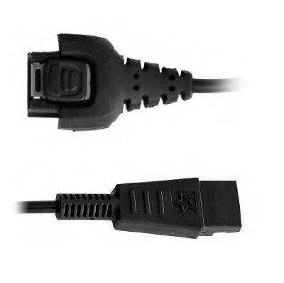 Zubehör BATSTAR Headset, Pick by Voice Headset-Zubehör, Anschlusskabel, Adapterkabel