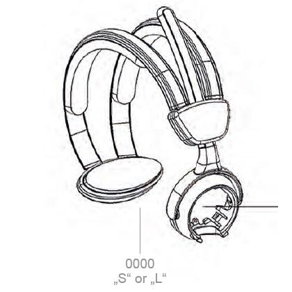 Ersatz-Kopfbügel BATSTAR Comfort, Ersatzteil Pick by Voice Headset