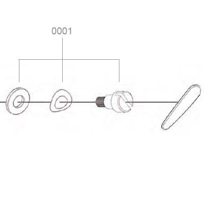 Schrauben zu BATSTAR Comfort, Ersatzteil Pick by Voice Headset