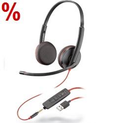 PC Headset, USB Headset, Headset für PC und Smartphone, Poly Headset