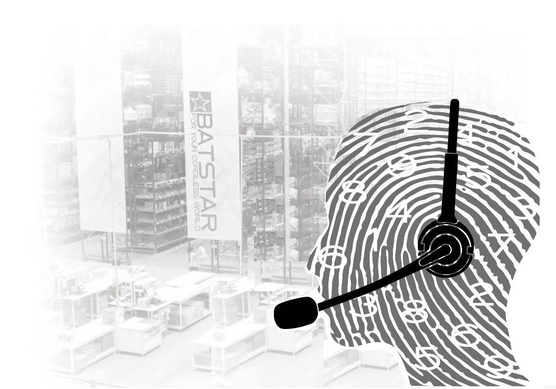 Headset für Warenhaussysteme