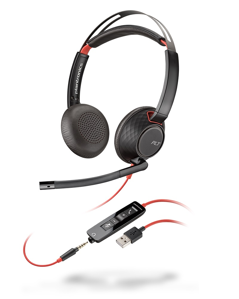 C5220 BLACKWIRE BINAURAL USB-A/-C