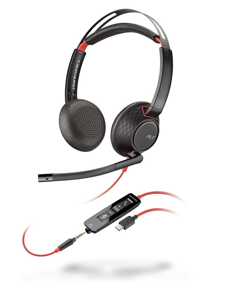 C5220 BLACKWIRE BINAURAL USB-A/-C