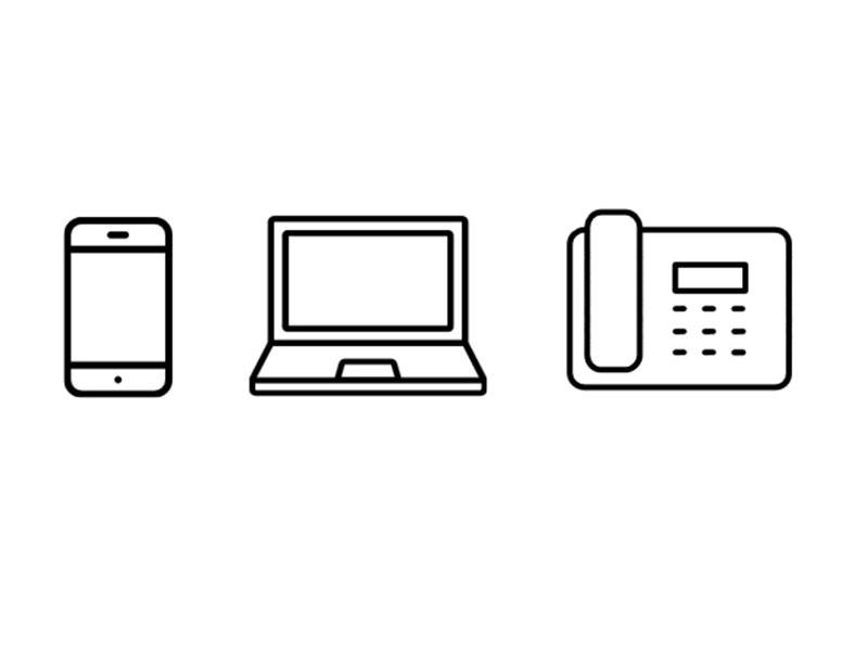 Tischtel + PC/MAC + Smartphone