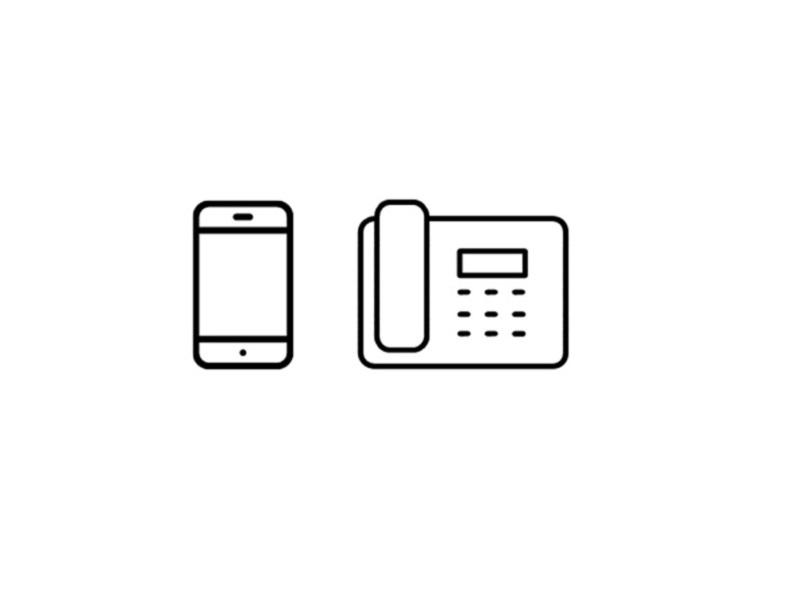 Tischtel + Smartphone